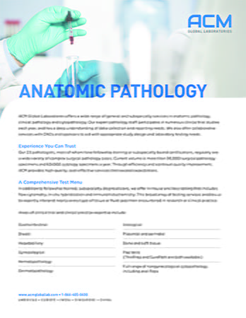 Anatomic Path Fact Sheet