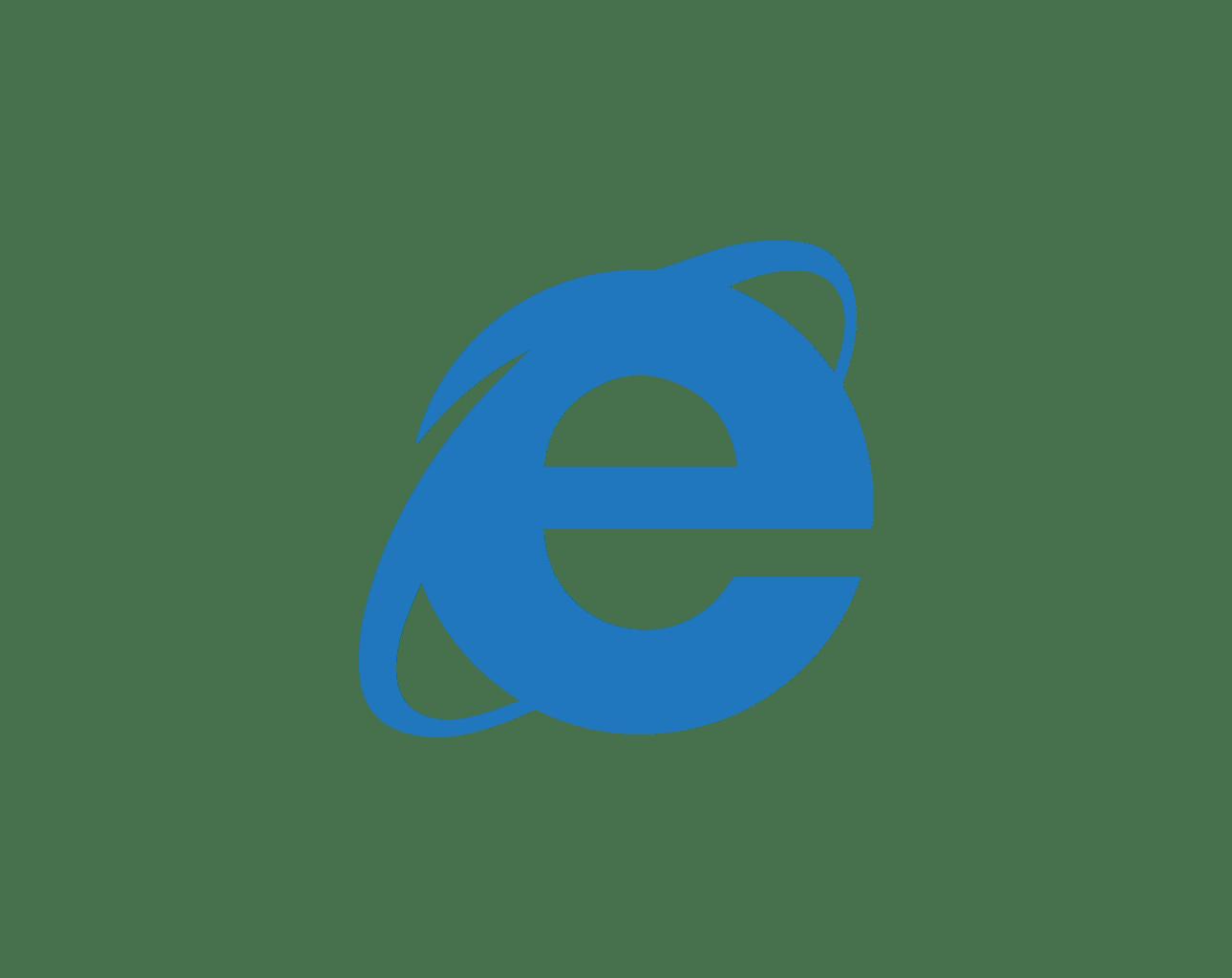 internet explorer browser logo