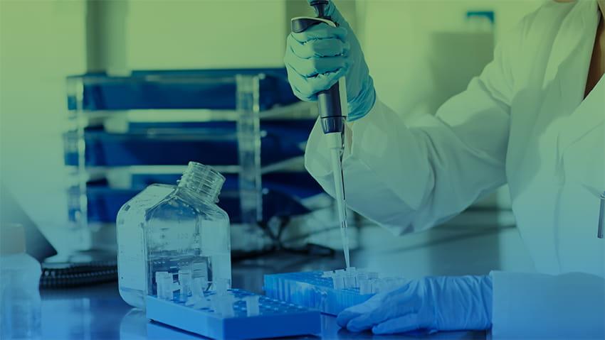 clinical trial lab testing scientist
